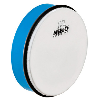 Meinl NINO45SB Percussion 8 inch ABS Hand Drum, Sky-Blue