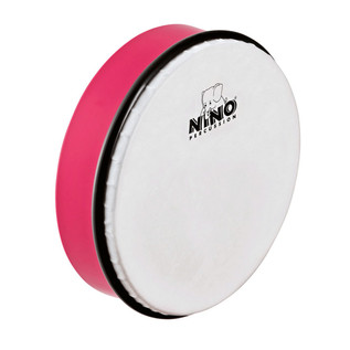 Nino Percussion 8 inch ABS Hand Drum, Strawberry Pink