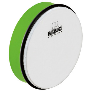 Meinl NINO45GG Percussion 8 inch ABS Hand Drum, Grass-Green