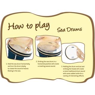 Meinl NINO44 Sea Drum