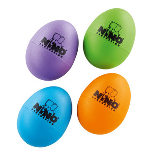 Meinl NINOSET540-2 Percussion Egg Shaker Assortment (4pcs)