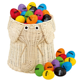 Meinl VE80-NI540-2 Percussion Egg Shaker Assortment 80pcs