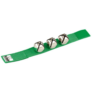 Meinl NINO961GR Percussion Wrist Bells Green