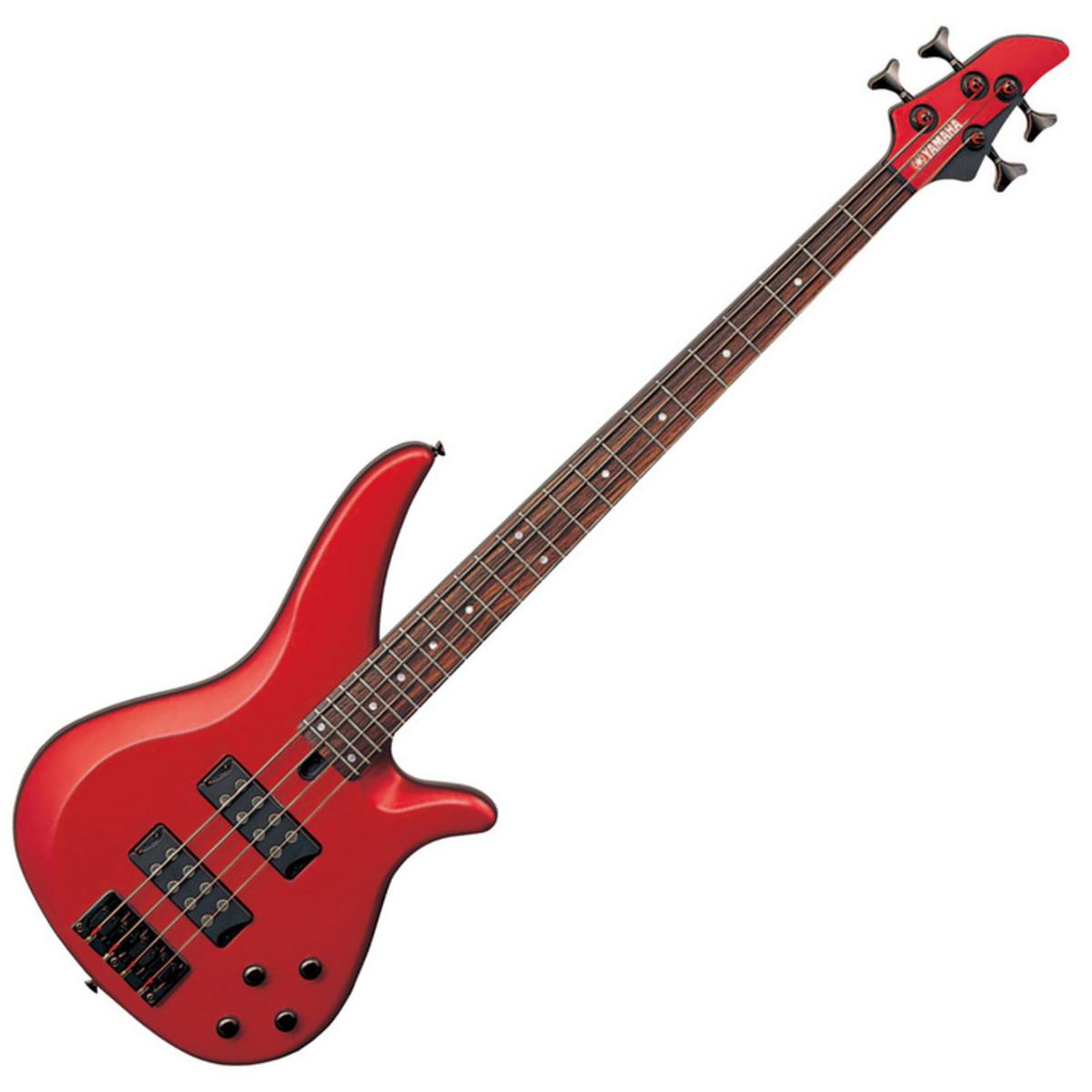 Yamaha rbx374 bass guitar red metallic nearly new at for Yamaha bass guitars