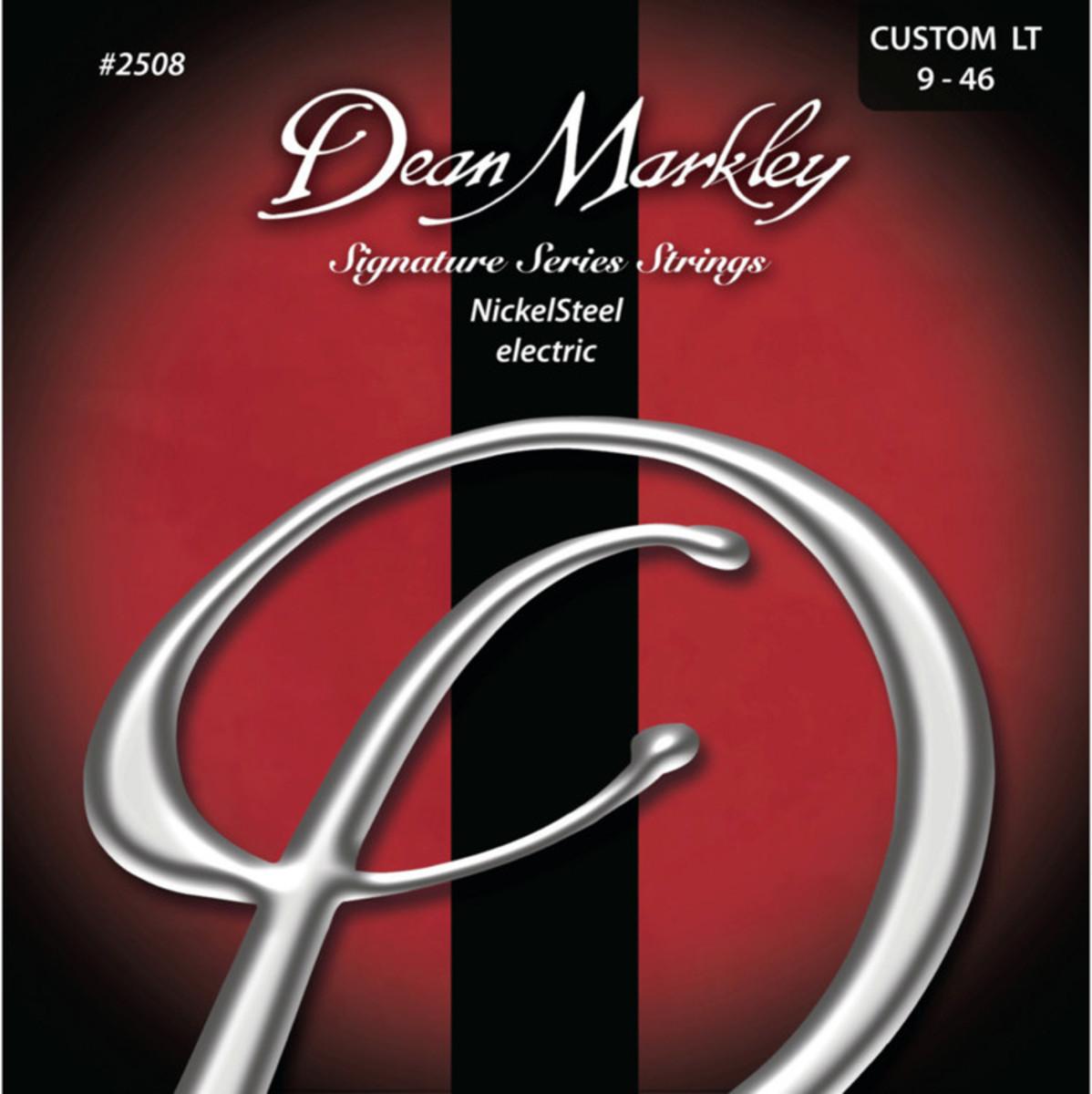 Image of Dean Markley Custom Light Electric Signature Guitar Strings 9-46