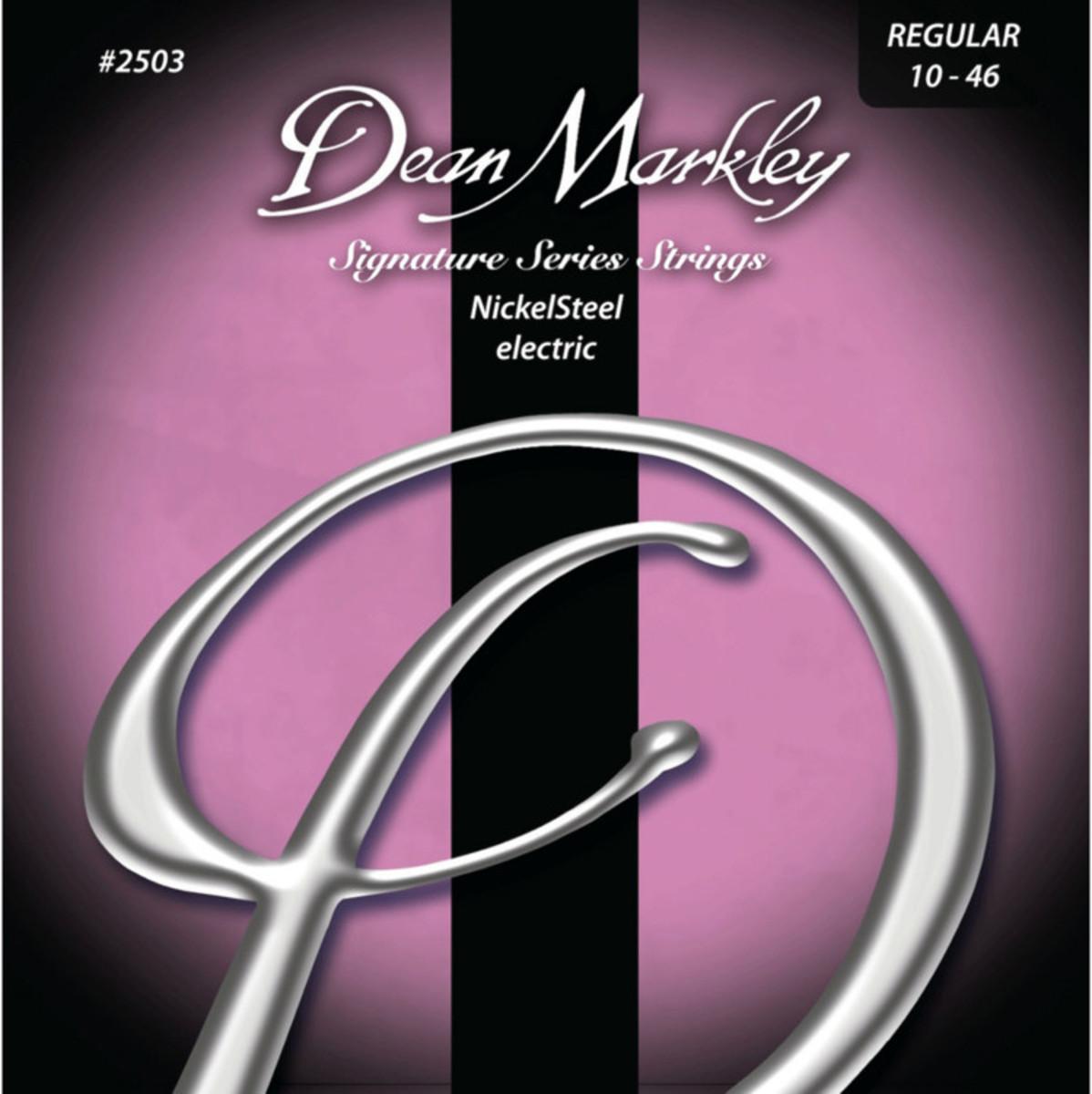 Image of Dean Markley Regular Electric Signature Guitar Strings 10-46