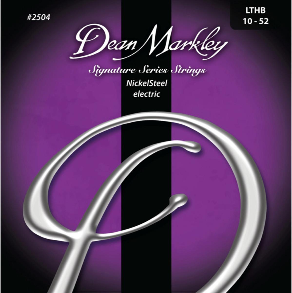 Image of Dean Markley Light Top/Heavy Bottom Signature Guitar Strings 10-52
