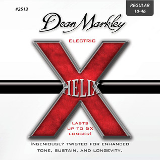 Dean Markley Regular Helix Electric Guitar Strings, 10-46