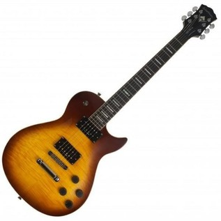 Washburn Idol WIN PRO Series Electric Guitar, Flame Tobacco Sunburst
