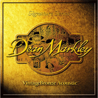 Dean Markley Med 12-str Vintage Signature Acoustic Strings, 12-54/30