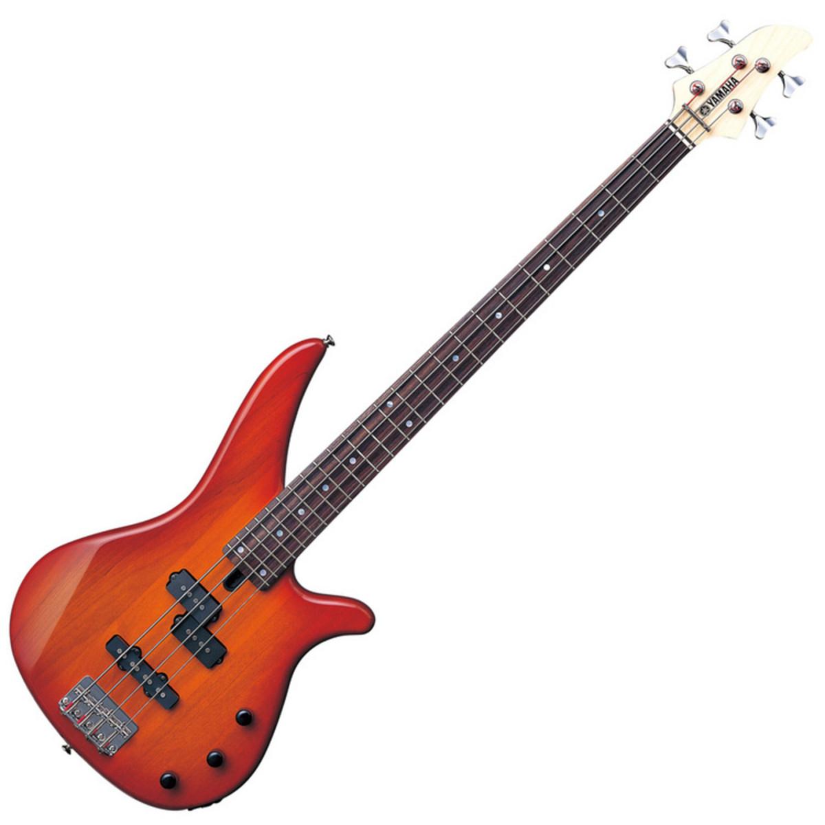 Disc yamaha rbx170 bass guitar light amber at for Yamaha bass guitars