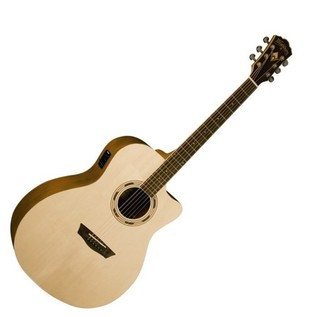 Washburn WG015SCE Woodline Series Grand Auditorium Acoustic Guitar
