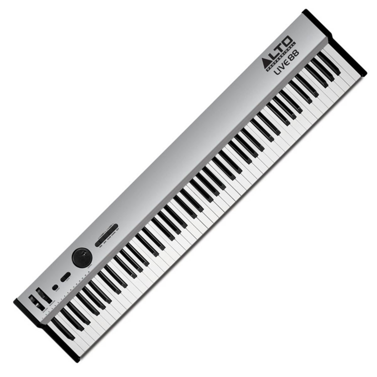 disc alto live 88 key midi performance controller keyboard at. Black Bedroom Furniture Sets. Home Design Ideas