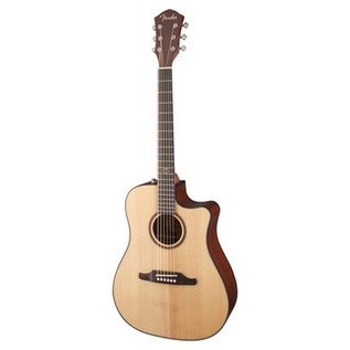 Fender F-1000CE Dreadnought Cutaway Electro-Acoustic Guitar, Natural