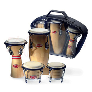 Stagg Mini Latin & African Percussion Package