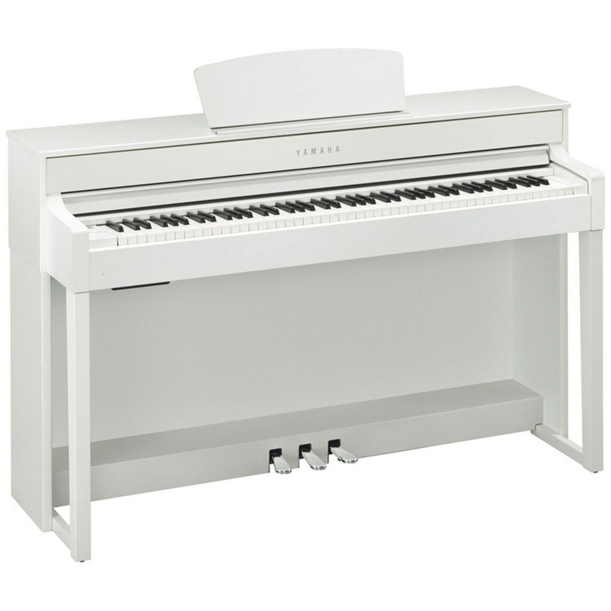 yamaha clavinova clp535 digital piano white at. Black Bedroom Furniture Sets. Home Design Ideas