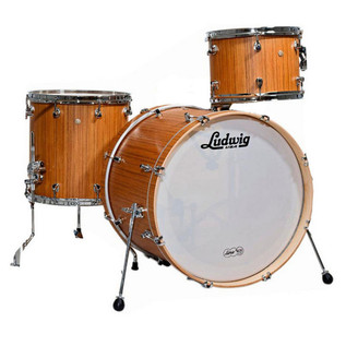 Ludwig Signet 105 GigaBeat 3Pc Shell Pack, Indian Teak