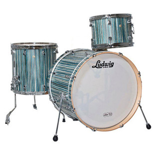 Ludwig Signet 105 GigaBeat 3Pc Shell Pack, Alpine Blue
