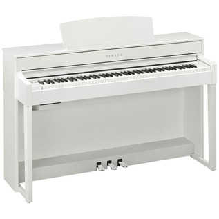 Yamaha Clavinova CLP575 Digital Piano, White