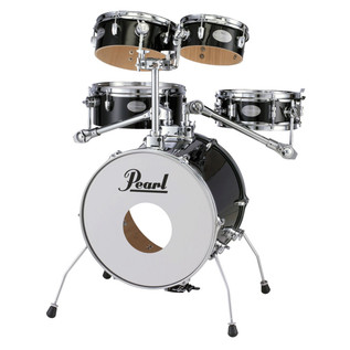 Pearl Rhythm Traveler RTG665 Gig Kit 2014, Jet Black