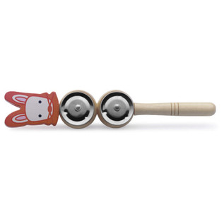 Stagg Wooden Jingle Stick (Rabbit)