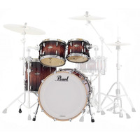 Cheap Pearl Masters Birch BCX Rock 22'' Shell Pack, Lava Bubinga