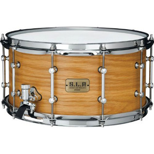 Tama SLP 14'' x 7'' Backbeat Birch Snare Drum, Matte Tan Oak