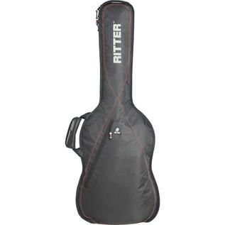 Ritter Performance RGP2 Guitar Bag, Classical 1/2, Red
