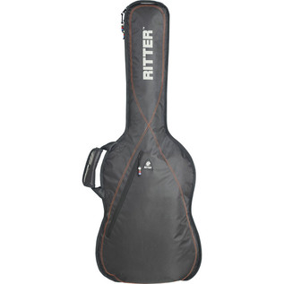Ritter Performance RGP2 Guitar Bag, Classical 4/4, Black/Red