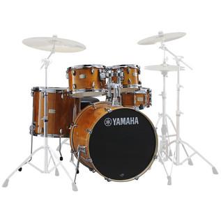 Yamaha Stage Custom Birch Drum Kit, Honey Amber