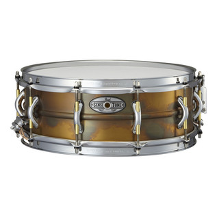 Pearl Sensitone Premium Snare Drum 14 In x 5 In, Patina Brass