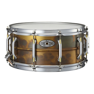 Pearl Sensitone Premium Snare Drum 14 In x 6.5 In, Patina Brass
