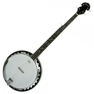Ozark 2104G Banjo, with Padded Cover