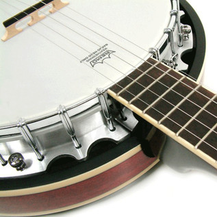 Ozark 2104G Banjo, with Padded Cover