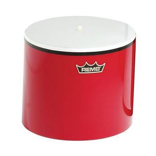 Remo 5 x 8 Inch Cuica Samba, Red