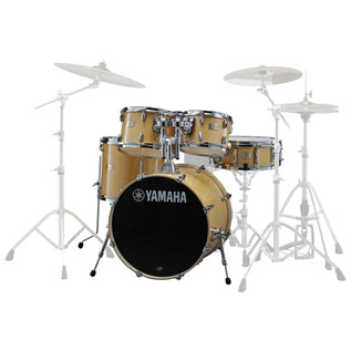 Yamaha Stage Custom Birch 20'' 5 Piece Shell Pack, Natural Wood