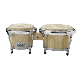 Remo Thai Bongo Set 7 + 8.5 Inch, Natural