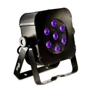 Stagg Flat spotlight w/ 7 x 8W RGBW (4 in 1) LED