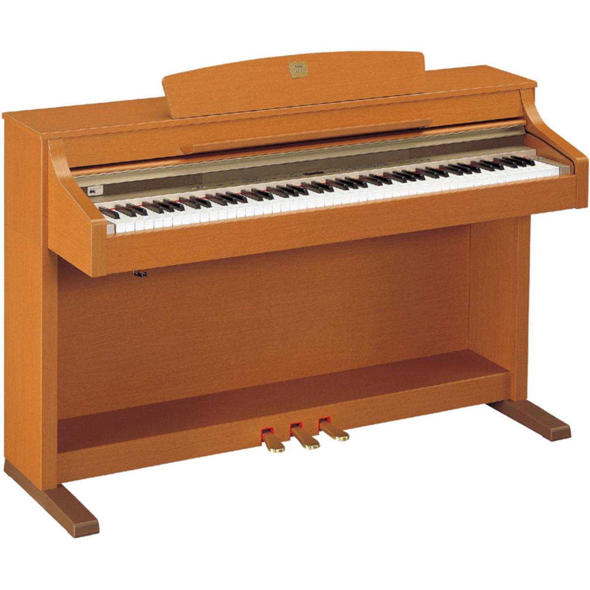 Disc yamaha clavinova clp330c cherry at for Yamaha dgx640c digital piano cherry