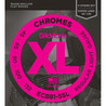 D'Addario ECB81-5SL 5-String Bass Guitar Strings, Light 45-132