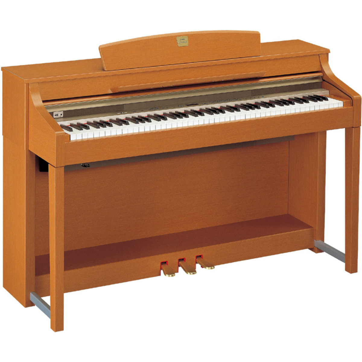 disc yamaha clavinova clp370c cherry at. Black Bedroom Furniture Sets. Home Design Ideas