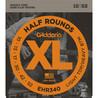 D'Addario EHR 340 halvparten runde elektrisk gitarstrenger, 010-052