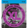 D'Addario EXL120 light strune 009-042