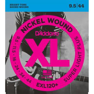 D'Addario EXL120+ Nickel Wound, Super Light Plus, 9.5-44