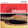 D'Addario EZ930 Cordes en bronze pour guitare acoustique, 85/15, Medium, 13-56