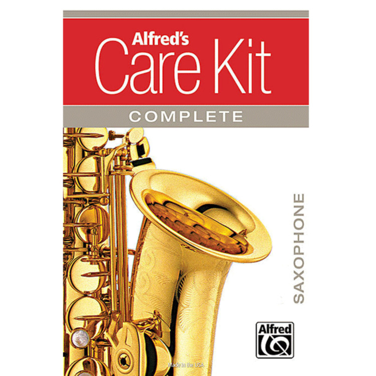 Image of Alfreds Complete Alto Saxophone Care Kit