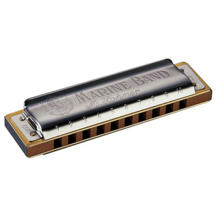 Hohner Marine Band 1896 Classic Harmonica - Key Of A