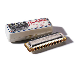 Hohner M1896116 Marine Band 1896 Classic Harmonica - Key Of Bb