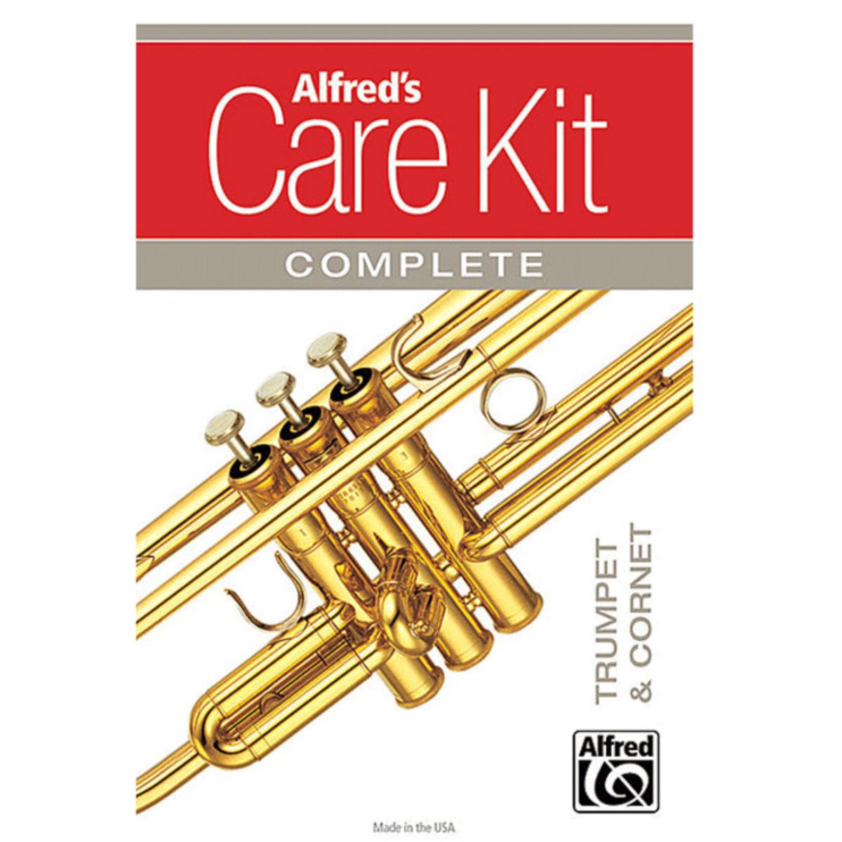 Image of Alfreds Complete Trumpet/Cornet Care Kit