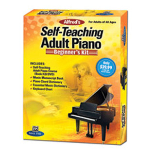 Alfred's Self-Teaching Adult Piano: Beginner's Kit